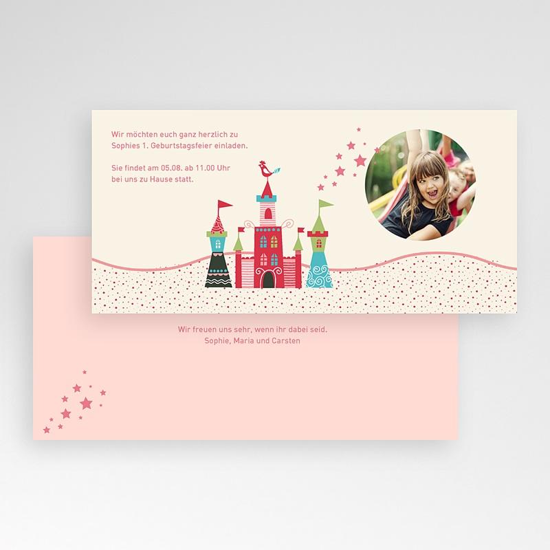 Geburtstagseinladungen Mädchen Schloss pas cher