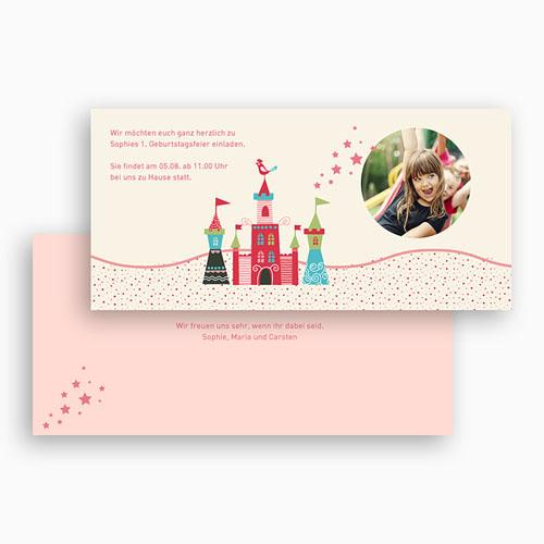 Geburtstagseinladungen Mädchen - Schloss 42761 test