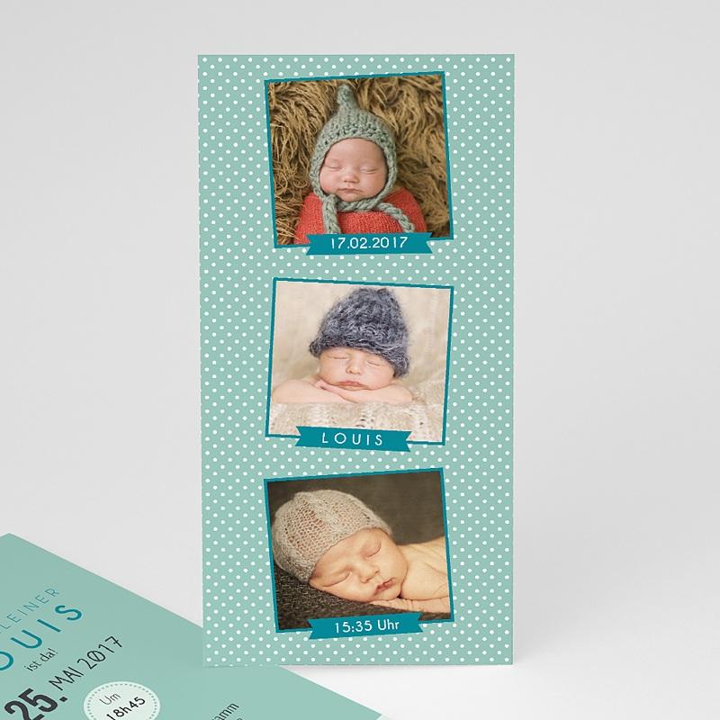 Geburtskarten für Jungen Fotoautomat