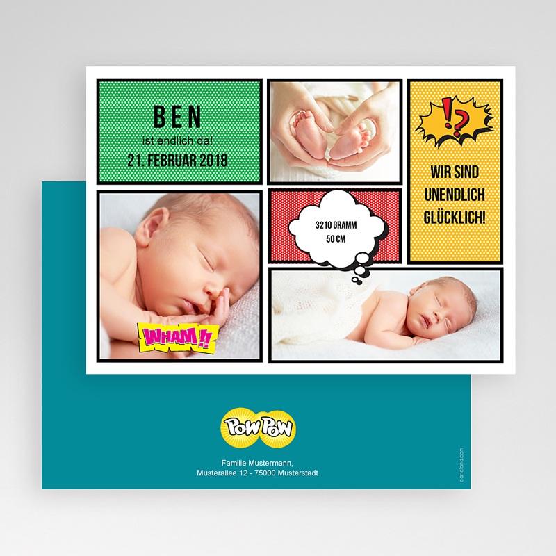 Geburtskarten Comic gratuit