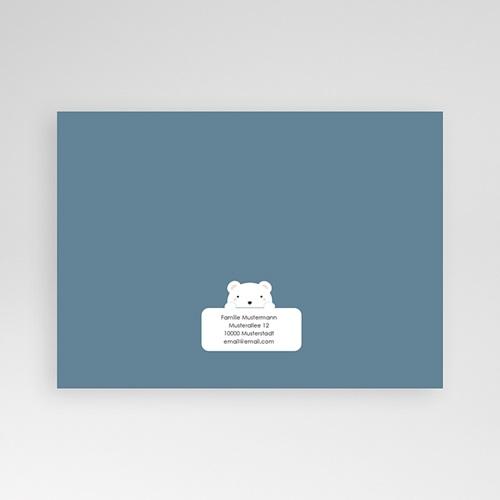 Geburtskarten mit Bär Herr Bär pas cher