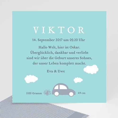 Babykarten für Jungen - Auto 42810