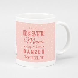 Personalisierte Fototassen Muttertag - Die beste Mama - 0
