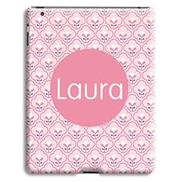 Case iPad 2 - Rosa Tapetenmuster - 0