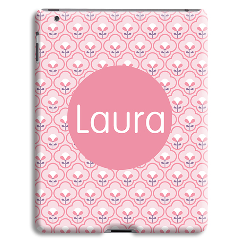 Case iPad 2 - Rosa Tapetenmuster 42877 test