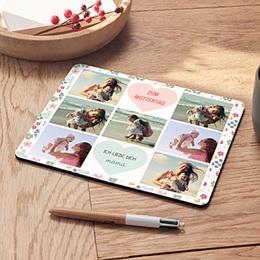 Personalisierte Foto-Mousepad - Herzen - 0