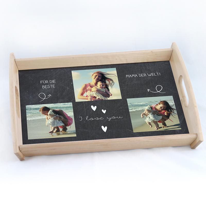 Personalisierte Foto-Tablett  Miam
