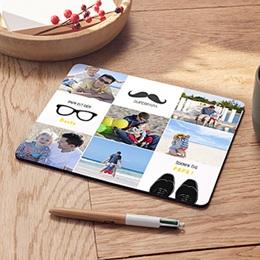 Foto-Mousepad Papa freu dich