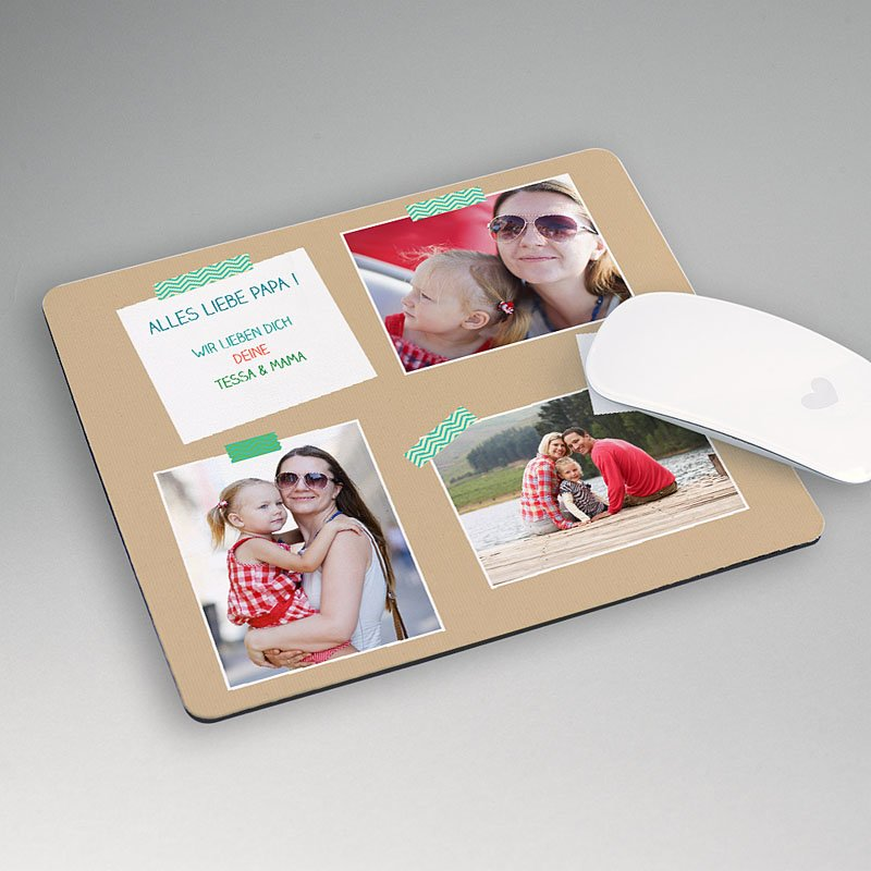 Personalisierte Foto-Mousepad Bookmark