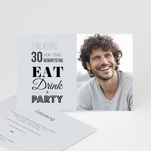 Runde Geburtstage - Eat, Drink and Party 42969