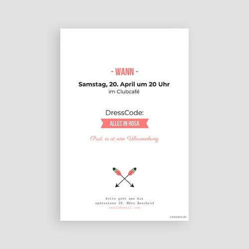 Erwachsener Einladungskarten Geburtstag Die Party steigt pas cher
