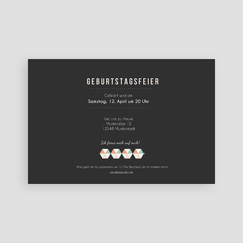 Runde Geburtstage - Design Typografie 43024 preview