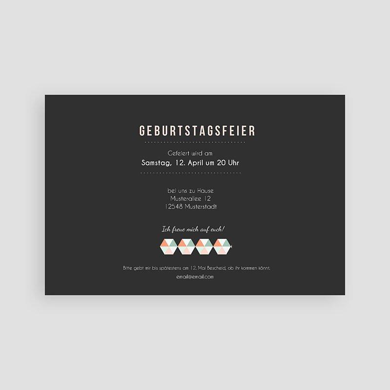 Runde Geburtstage Design Typografie pas cher