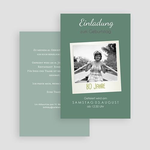 Erwachsener Einladungskarten Geburtstag Pola Party gratuit