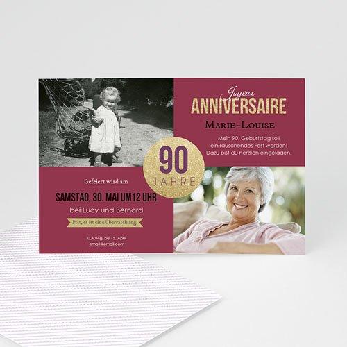 Runde Geburtstage - Feier 90 43041