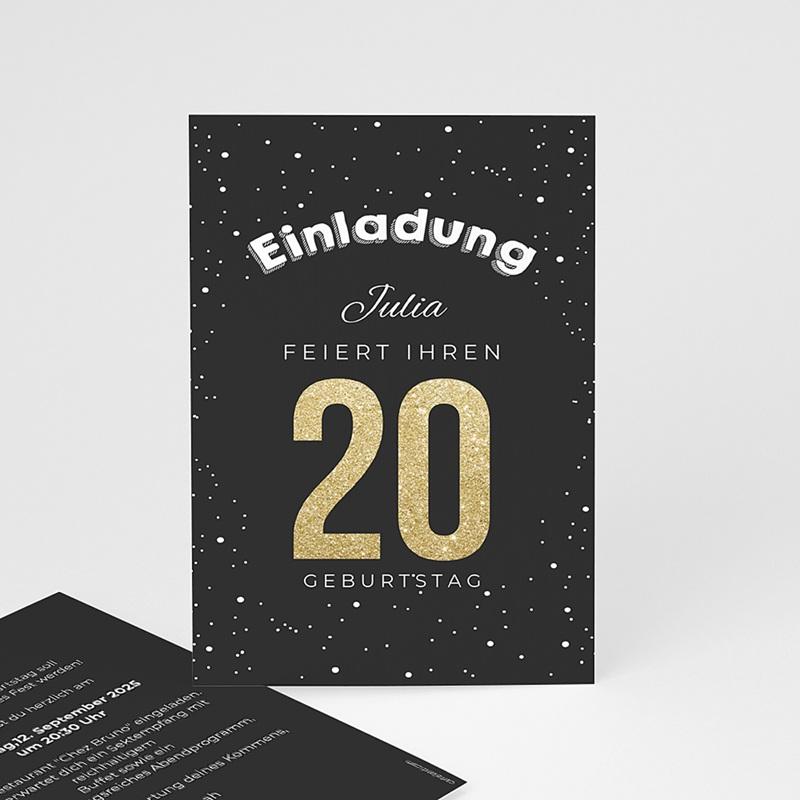 Runde Geburtstage - Goldene 20 43053 thumb