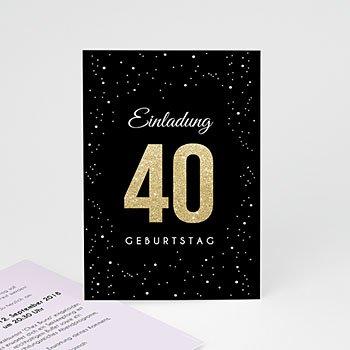 Runde Geburtstage - Festliche 40 - 0