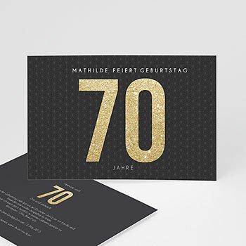 Runde Geburtstage - Goldene 70er - 0