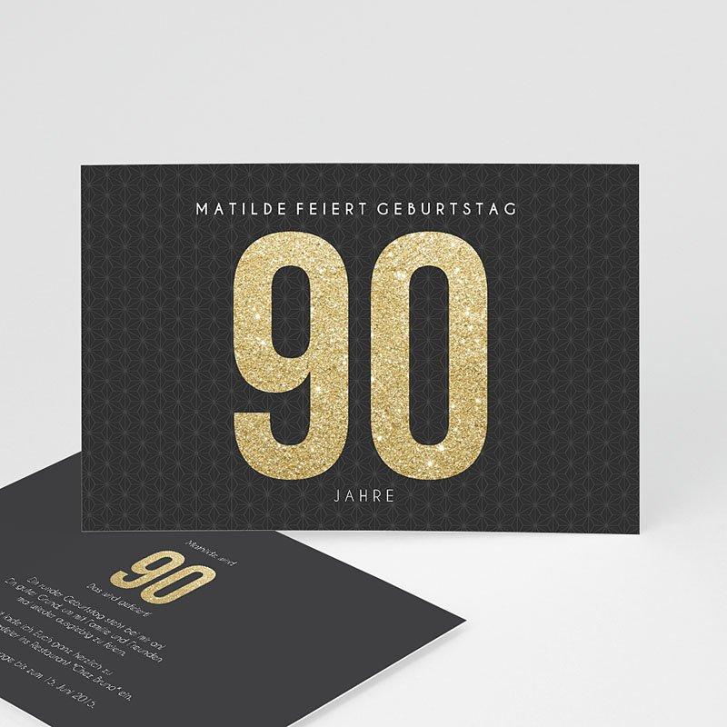 Erwachsener Einladungskarten Geburtstag Goldene 90er