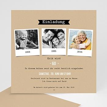 Einladungskarten 60 Geburtstag Individuell Gestalten