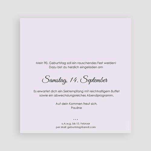 Erwachsener Einladungskarten Geburtstag Lebensjahre pas cher
