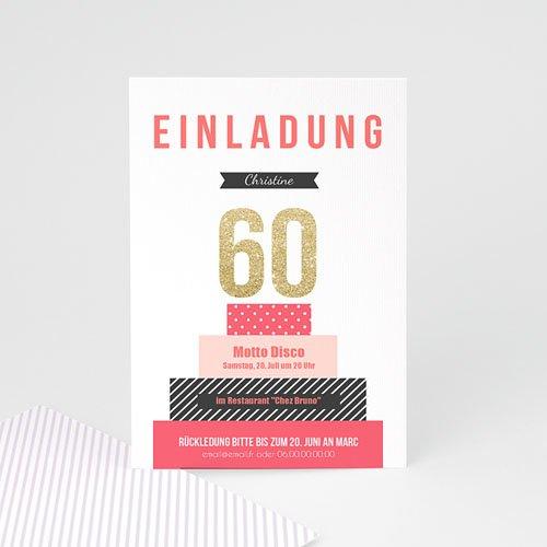 Runde Geburtstage - Torte 43146