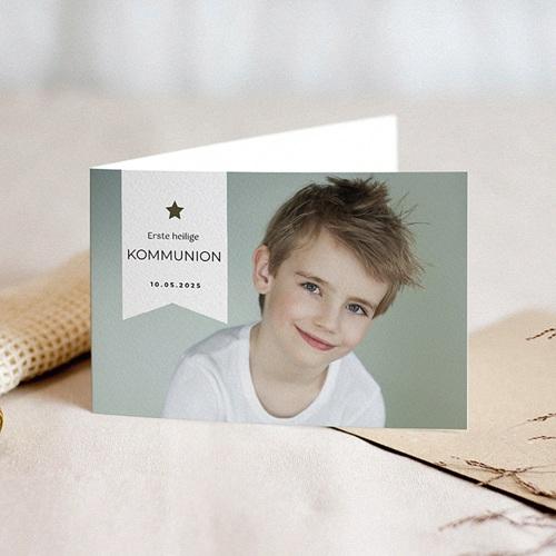 Einladungskarten Kommunion Jungen Kommunionkind