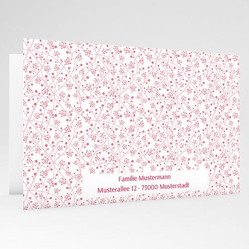 Einladungskarten Kommunion Mädchen - Floral 43233 preview