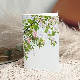 Trauer Danksagung weltlich - Unsterbliche Rosen - 1