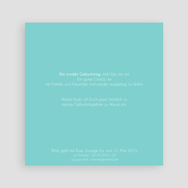 Runde Geburtstage - Tafelkreide 50 43289 thumb