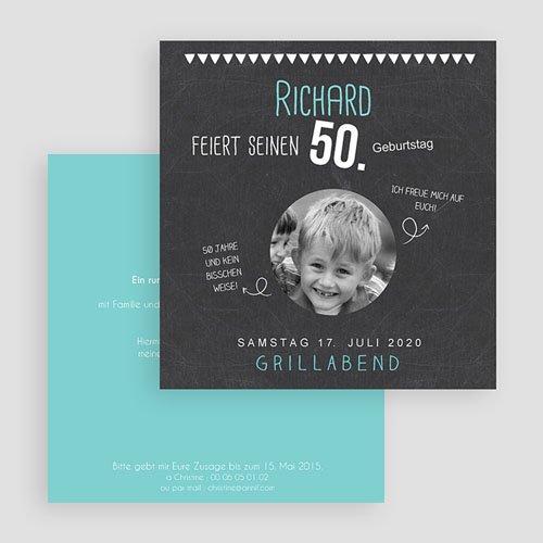 Runde Geburtstage - Tafelkreide 50 43290 test