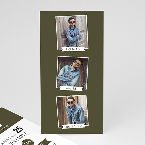 Erwachsener Einladungskarten Geburtstag Fotoserie