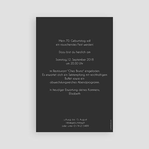Runde Geburtstage - Goldene 70 43337 preview