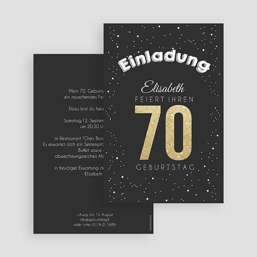 Runde Geburtstage - Goldene 70 43338 preview