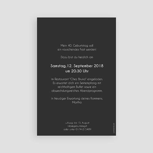 Erwachsener Einladungskarten Geburtstag Goldene 80 pas cher