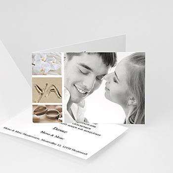 Hochzeitseinladungen modern - Miniaturfotos - 1