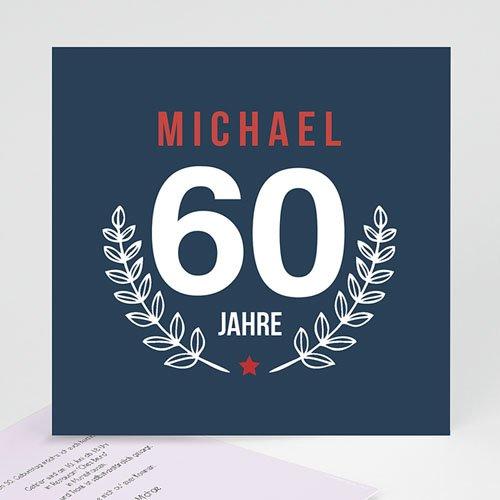 Runde Geburtstage - Lorbeerzweig 43360 test