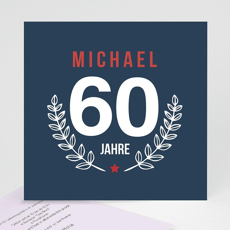 Runde Geburtstage - Lorbeerzweig 43360 thumb