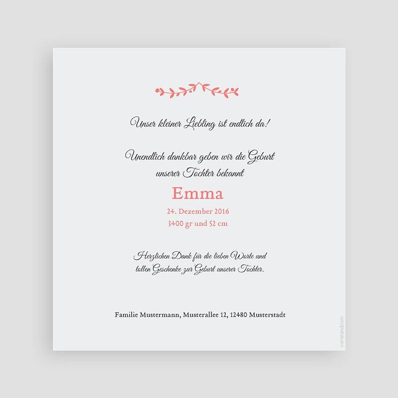 Geburtskarten für Mädchen Weihnachten Rosa pas cher