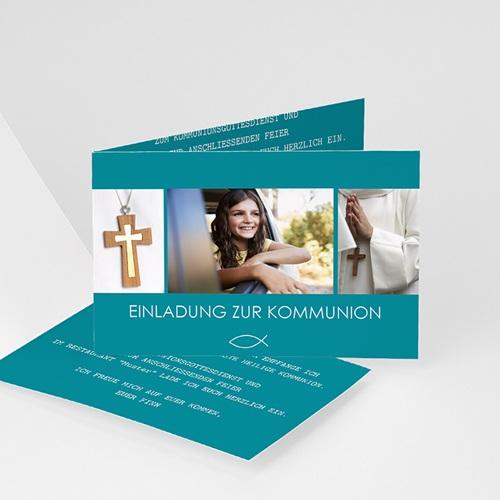 Einladungskarten Kommunion Jungen - Spirituell 43375 thumb