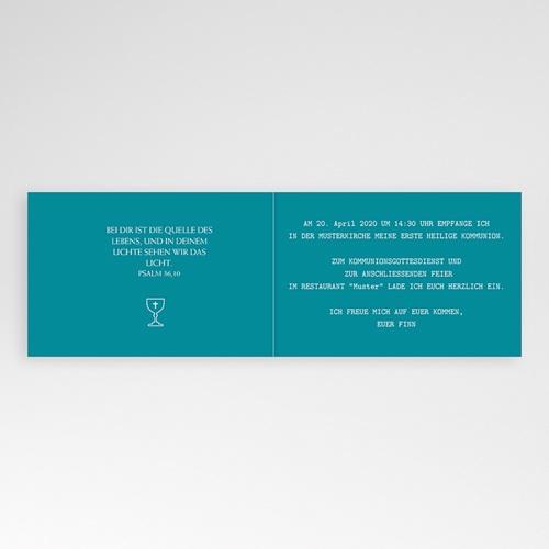Einladungskarten Kommunion Jungen - Spirituell 43376 thumb