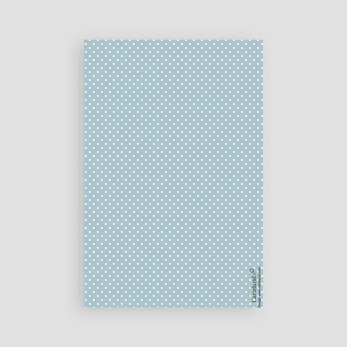 Dankeskarten Geburt Jungen - Tafeldesign neu 43378 test