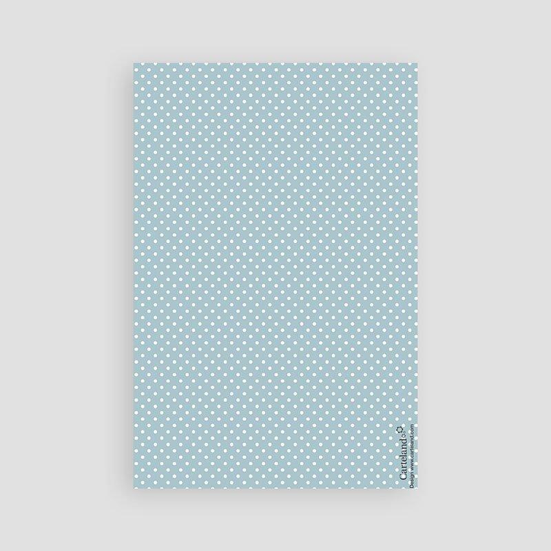 Dankeskarten Geburt für Jungen Tafeldesign neu pas cher