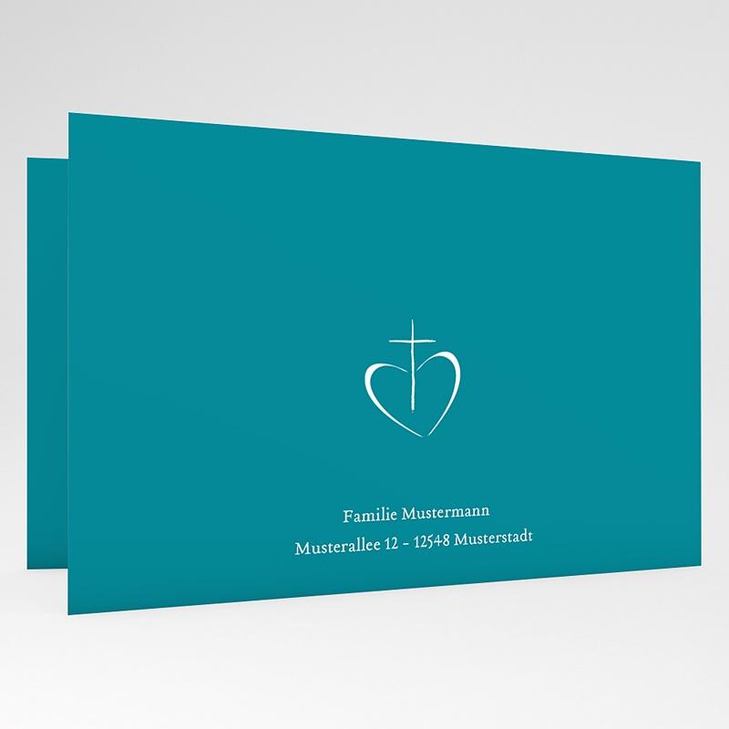Einladungskarten Kommunion Jungen - Spirituell 43442 thumb