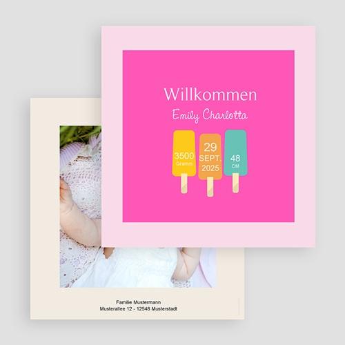Geburtskarten für Mädchen - Sommer Baby 43537 test