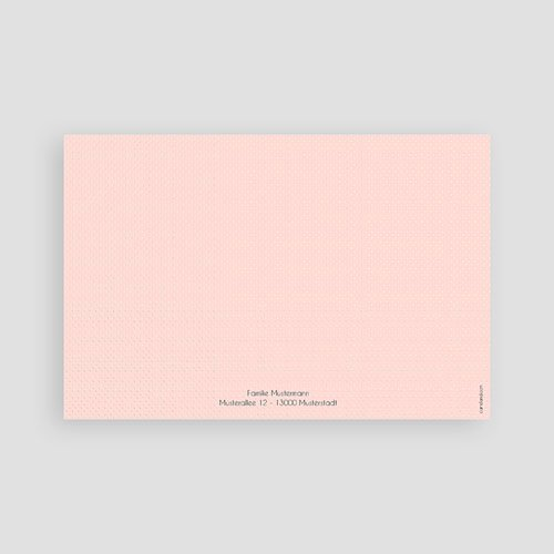 Dankeskarten Geburt Mädchen - Hello multifarben 43554 preview