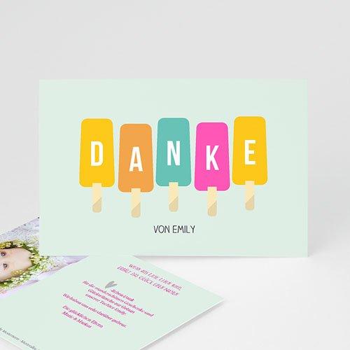 Dankeskarten Geburt Mädchen - Sommer Baby 43562