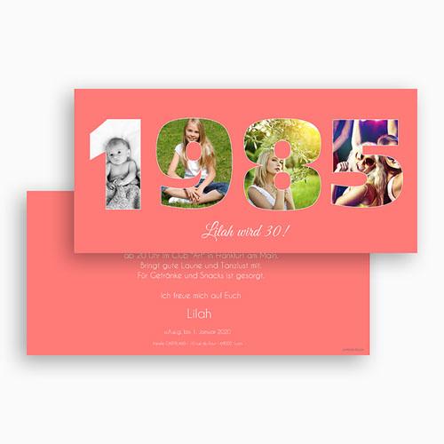 Runde Geburtstage - Fotozahl 30 43600 preview
