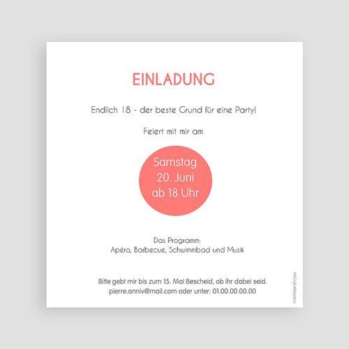 Runde Geburtstage - Cup Cake 43614 test