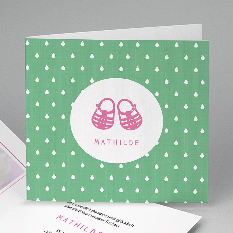 Geburtskarten für Mädchen Sommer und Strand